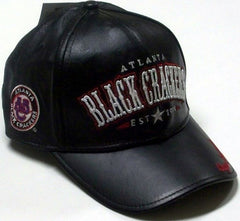 Atlanta Black Crackers - Negro League leather cap