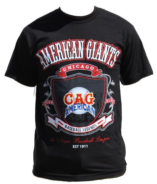 Chicago American Giants - Negro League - tshirt - TF