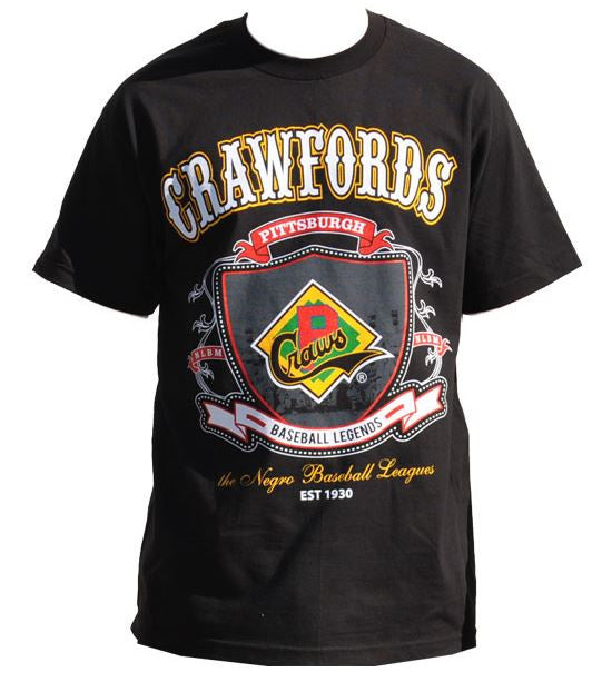 Pittsburgh Crawfords - Negro League - tshirt - TF