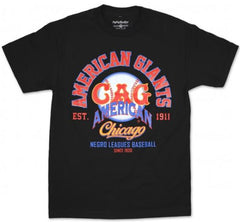 Chicago American Giants - Negro League - tshirt - TH