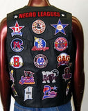 Negro Leagues leather vest