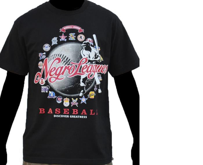 Negro League Commemorative short sleeve t-shirt - black