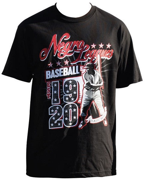 Negro League Commemorative t-shirt - black - NSTT