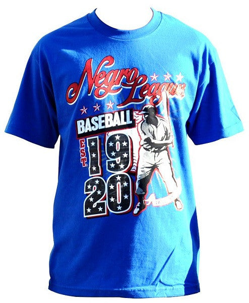 Negro League Commemorative t-shirt - blue - NSTT