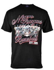 Negro League Commemorative t-shirt - black - NSTU