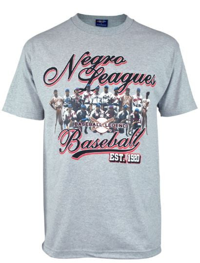 Negro League Commemorative t-shirt - grey - NSTU