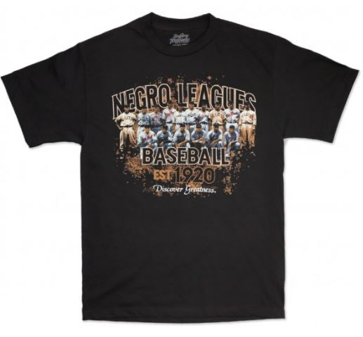 Negro Leagues Baseball t-shirt - black - NSTY