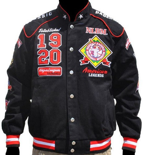 Negro League Baseball - racing jacket