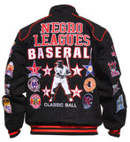 Negro League Baseball jacket - racing style - NTJF