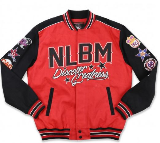 Negro Leagues Baseball - commemorative jacket