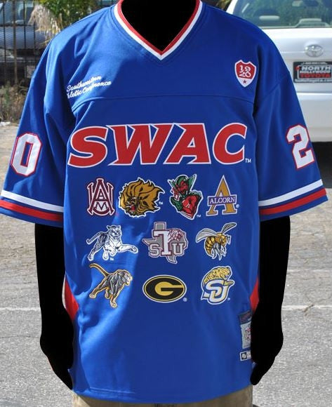 SWAC - football jersey - blue