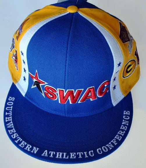 SWAC cap - yellow and blue