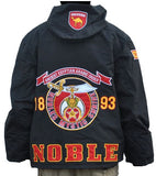 Shriners jacket - windbreaker