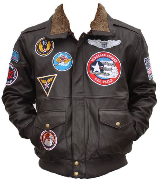 Tuskegee Airmen Leather Bomber Jacket Tljc It S A