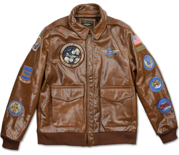 Tuskegee Airmen - leather bomber jacket - TLJD