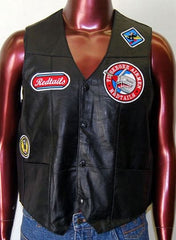 Tuskegee Airmen - leather vest
