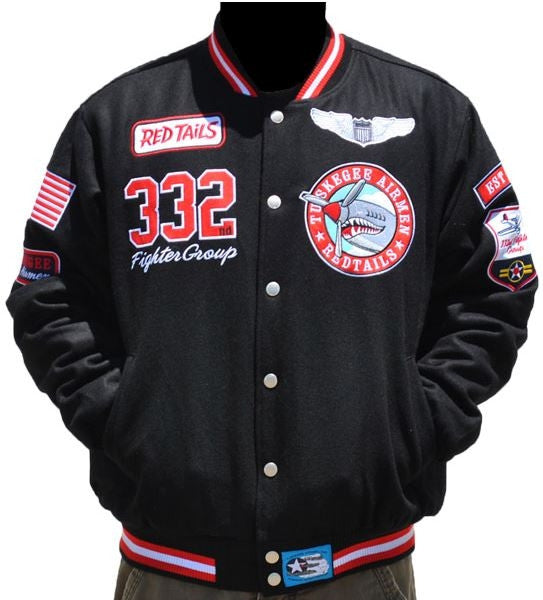 Tuskegee Airmen - red tails jacket
