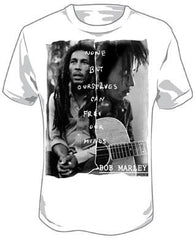 Bob Marley - Free Our Minds - tshirt