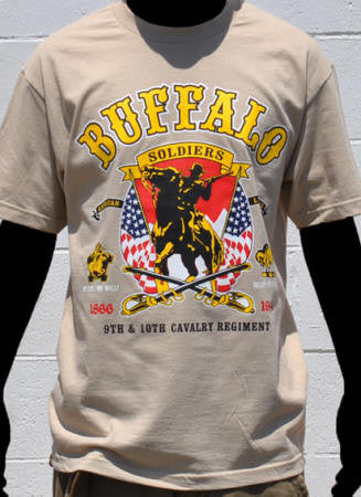 Buffalo Soldier t-shirt - BSTL-K