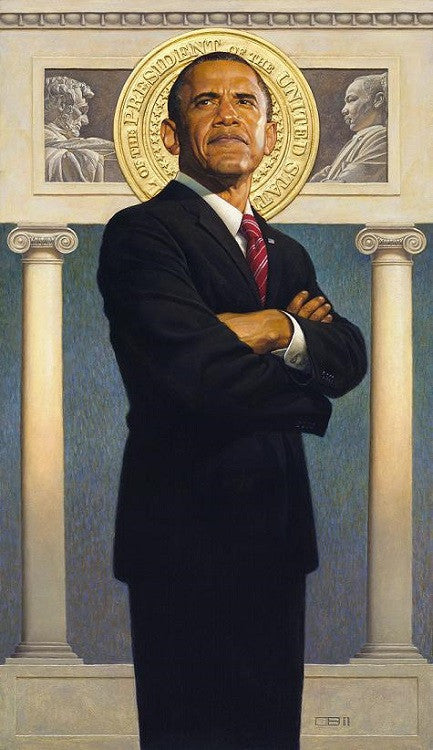 President Obama - 35x21 limited edition print - Thomas Blackshear