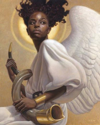 Preparing To Sound The Alarm - 23x29 limited edition print - Thomas Blackshear