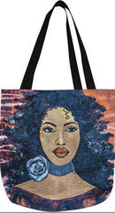 Blue Rose - Gbaby Designs - totebag