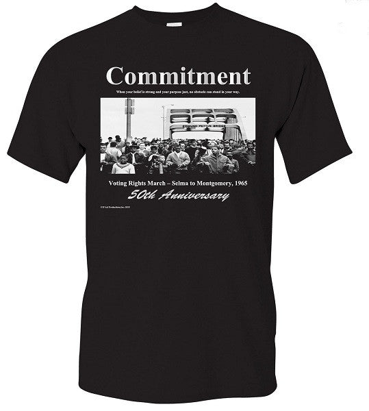 Commitment 50th Anniversary - t-shirt