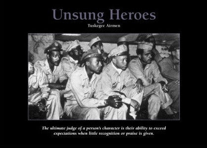 Unsung Heroes - 24x36 poster