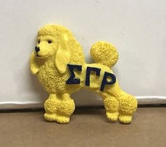 Sigma Gamma Rho - poodle magnet