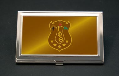 Iota Phi Theta - business card holder