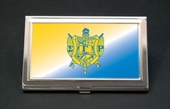 Sigma Gamma Rho business card holder