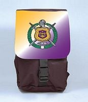 Omega Psi Phi back pack - book bag