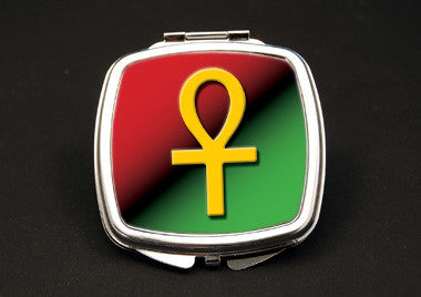 Ankh Symbol - dual mirror compact
