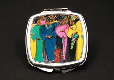 Million Woman March - dual mirror compact