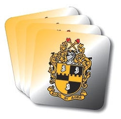Alpha Phi Alpha coasters - set of 4