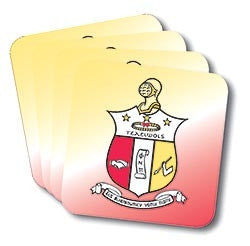 Kappa Alpha Psi coasters - set of 4