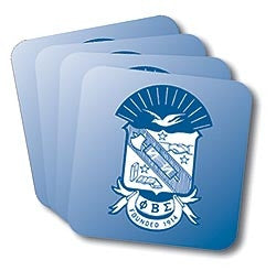 Phi Beta Sigma coasters - set of 4
