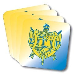 Sigma Gamma Rho coasters - set of 4
