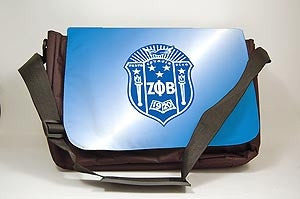 Zeta Phi Beta laptop shoulder bag