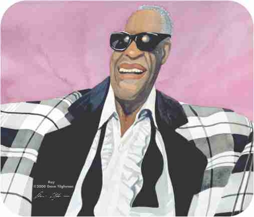 Ray Charles - mousepad