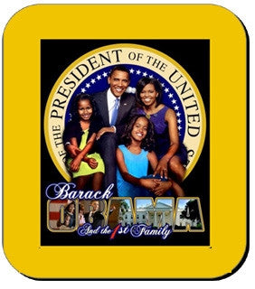 Obama First Family - mousepad