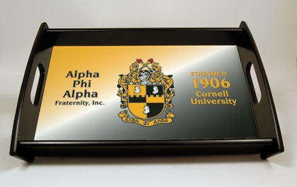 Alpha Phi Alpha serving tray