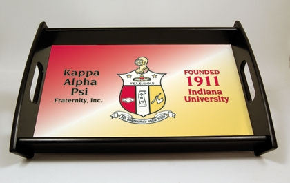 Kappa Alpha Psi serving tray
