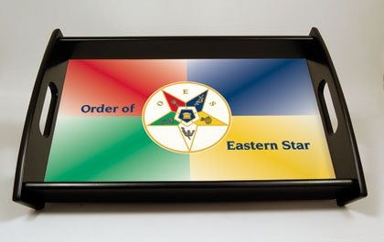 Eastern Star serving tray