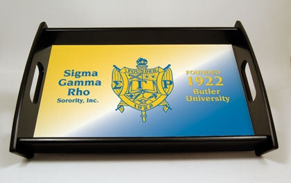 Sigma Gamma Rho serving tray