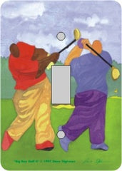 Big Boy Golf - single light switch cover