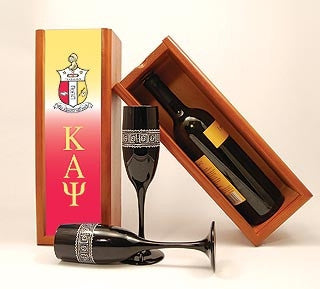 Kappa Alpha Psi wine box