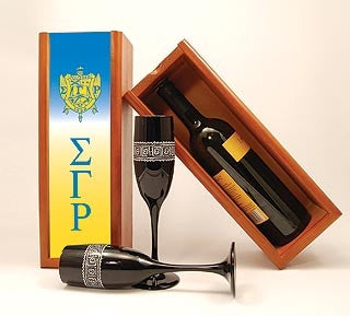 Sigma Gamma Rho wine box