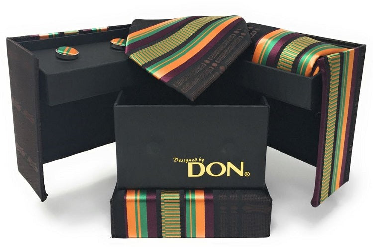 Neck Tie Gift Set- Kente - DD-101DQ