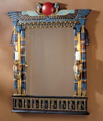 Wadjet Egyptian Wall Mirror